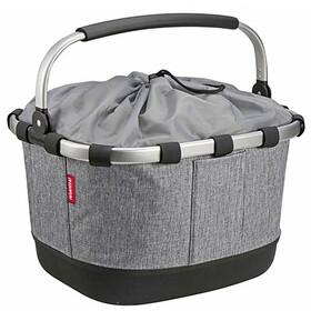KlickFix Reisenthel Carrybag GT Bike Basket for Racktime, grey